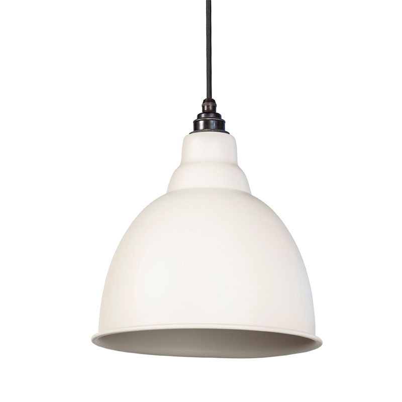 Brindley Pendant - Oatmeal Exterior and Interior