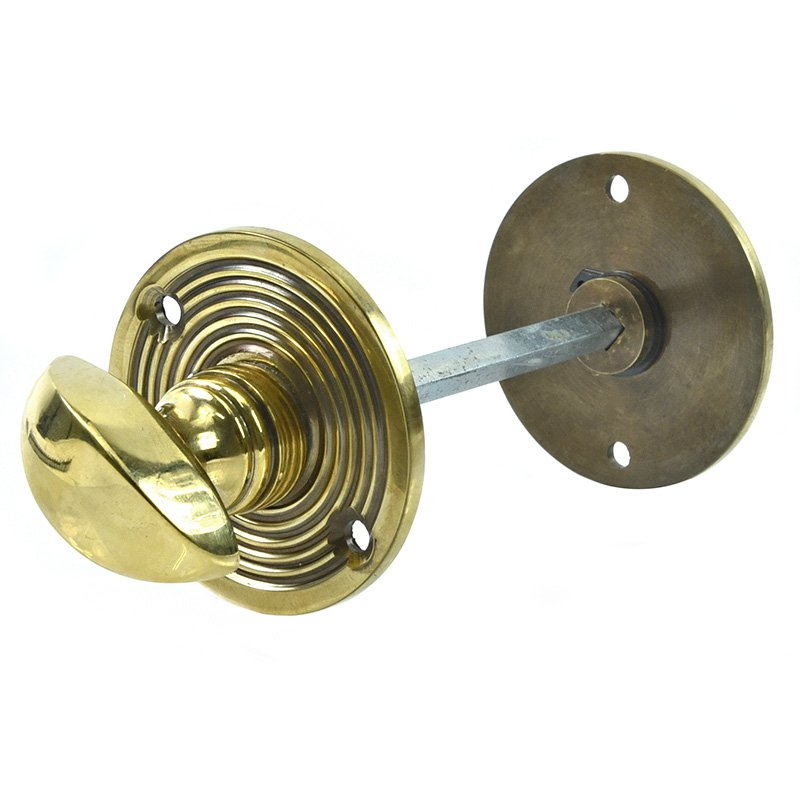 Home Accessories Aged Brass Beehive Bathroom Thumbturn