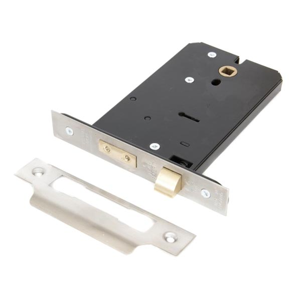 Stockists of 5 Lever Horizontal Sash Lock - Stainless Steel Finish
