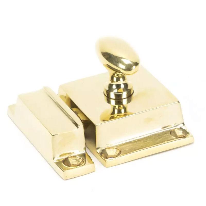 Cabinet Latch - Polished Brass