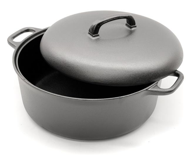 Gense Cast Iron Casserole Dish Cast Iron Cookware Cast