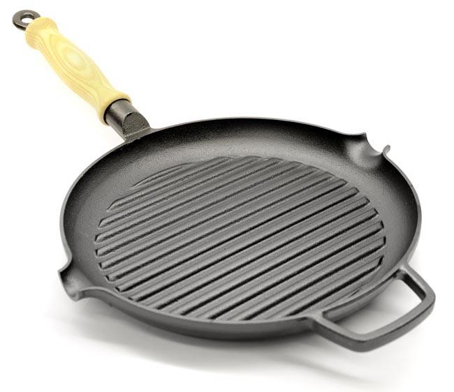 Gense Cast Iron Grill Pan Cast Iron Cookware Cast Iron