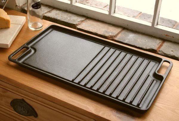 Cast Iron Griddle Hot Plate