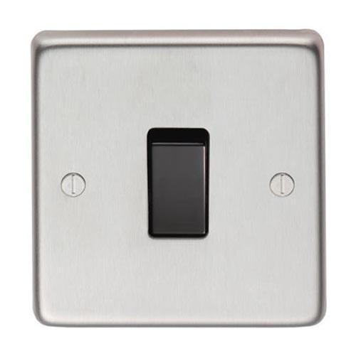 Satin Stainless Steel Single Light Switch