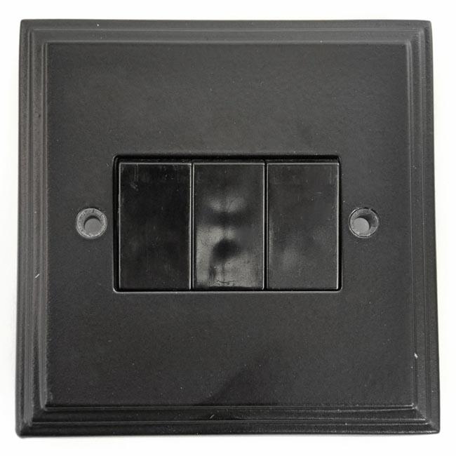 Black 3 Gang Light Switch At Housecharm Price List