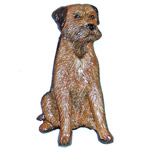 Border Terrier Sitting