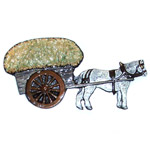 --Horse and Hay Cart