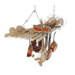 Seven Lath Gismo Kitchen Pot Rack