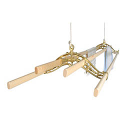 Brass Classic Kitchen Maid� Pulley Clothes Airer
