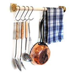 Brass Utensil Rack