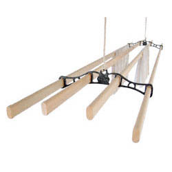 Traditional Kitchen Maid� Pulley Clothes Airer | Cast Iron Home and Garden Ware & Traditional Ironmongery