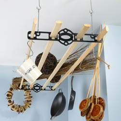 Ceiling Hanging Pot Rack