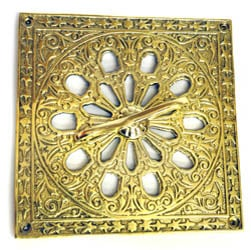 Brass Square Air Vent