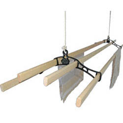 Victorian Kitchen Maid� Pulley Clothes Airer | Cast Iron Home and Garden Ware & Traditional Ironmongery