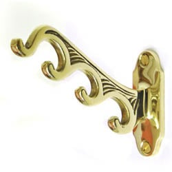 Brass 4 in 1 Coat Hook