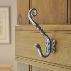 Kirkpatrick 1130 Small Unicorn Coat Hook - Pewter Finish