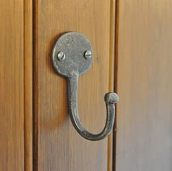 Kirkpatrick 6064 Coat Hook - Argent Finish