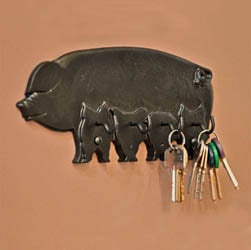 Pig Key Rack | Cabinet Knobs