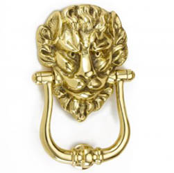 Croft 1768 Deluxe Lions Head Door Knocker