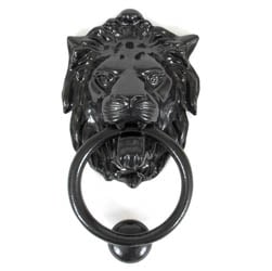 Regency Lions Head Door Knocker