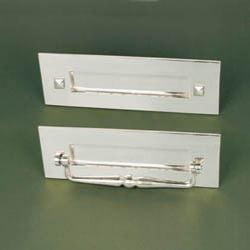 Traditional Nickel Letterplate