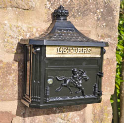 Epsom Wall Mounted Post Box