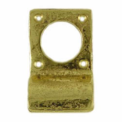 Kirkpatrick 1485 Brass Front Door Key Hole Cover