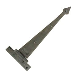 Blacksmith Beeswax Arrow Head Door Hinges