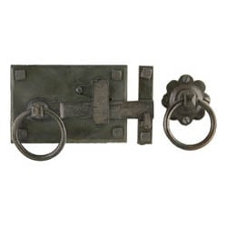 Blacksmith Beeswax Cottage Latch Set