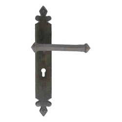 Blacksmith Beeswax Tudor Lever Door Handle