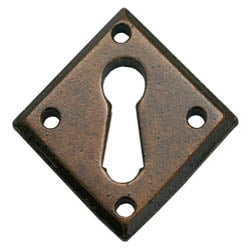 Bronze Blacksmith Diamond Escutcheon
