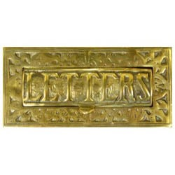 Brass Letterplate