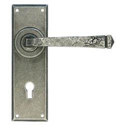 Blacksmith Pewter Patina Avon Lever Door Handle