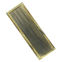 Brass Chester Fingerplate