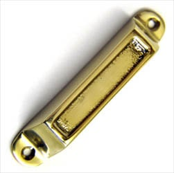 Brass Rim Lock Keep Number 3