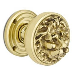 Croft 1734 Lions Head Door Knob