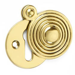 Croft 4565 Reeded Escutcheon