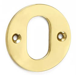 Croft 4572 Round - Oval Profile Escutcheon