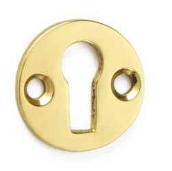 Croft 4569 Round Cupboard Escutcheon