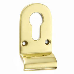 Croft 1774 Cylinder Pull Escutcheon Euro Profile
