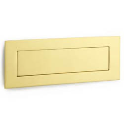 Croft 5000 Flush Letter Plate