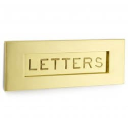 Croft 6355 Engraved Letterplate