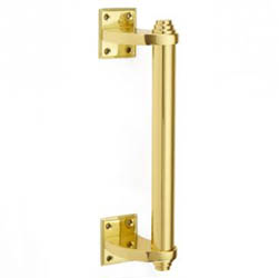 Croft 6385 Pull Handle on Square Roses