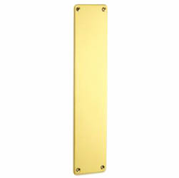 Croft 1758RC Finger Plate with Rounded Corners