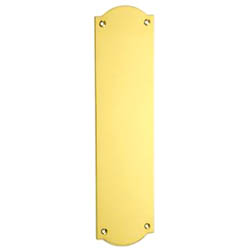 Croft 1758A Ribbon Edge Finger Plate