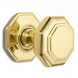 Croft 4185 Flat Octagonal Centre Door Knob