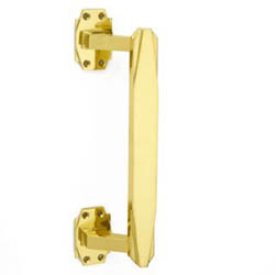 Croft 7009 Art Deco Pull Handle on Roses