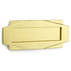 Croft 7014 Art Deco Letterplate