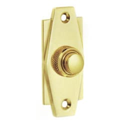 Croft 7015 Art Deco Bell Push