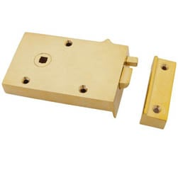 Brass Bathroom Latch